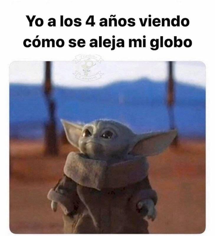 Los memes del bebé Yoda han arrasado en Internet