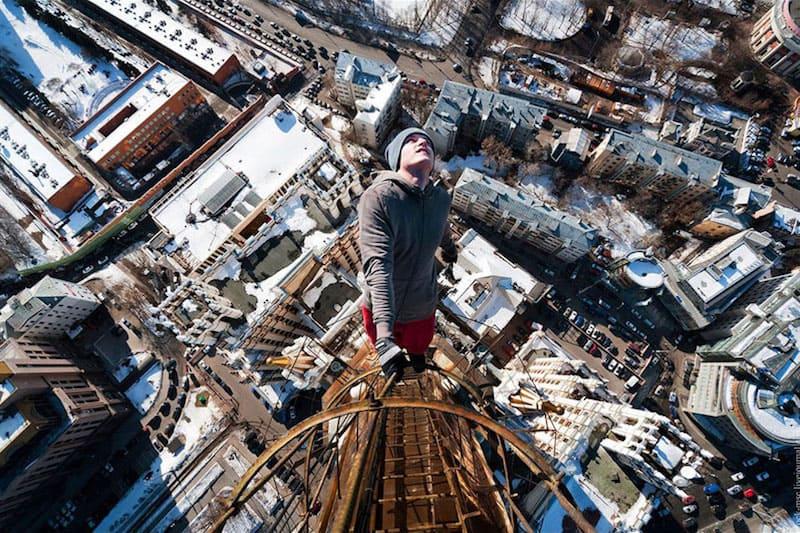 Foto en la cima de un edificio