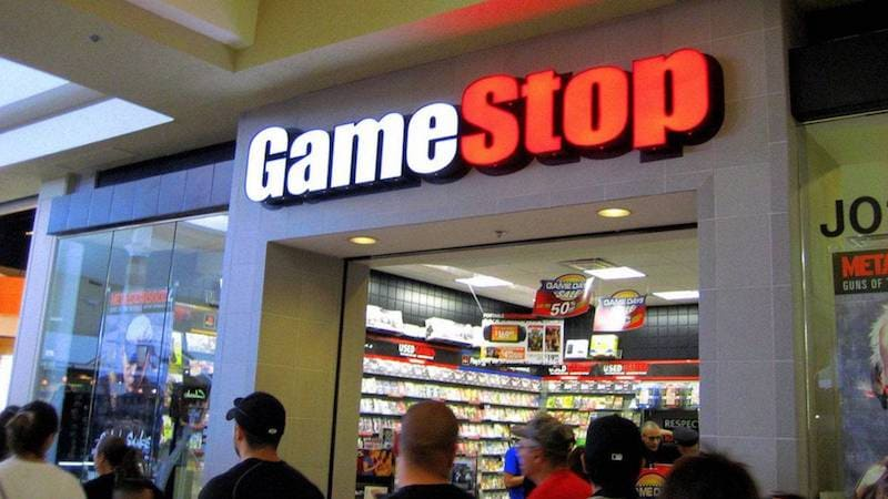 Cartel de gamEStop